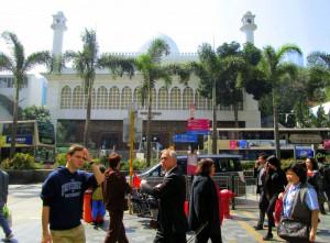 Masjid Jami' Tsim Sha Tsui.
