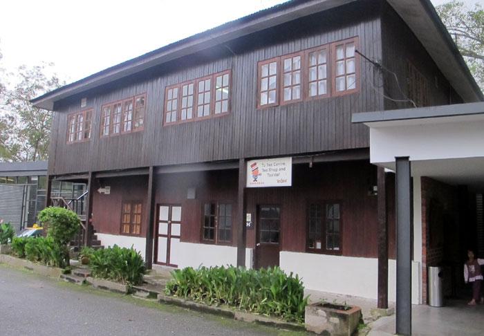Bangunan ini jalan masuk tea centre dan tea shop