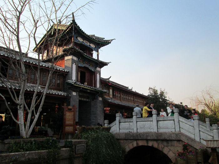 Pusat hiburan di Kota Kuno Lijiang