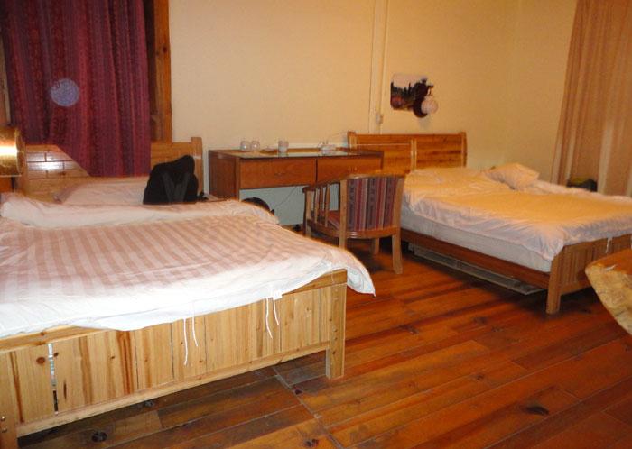 Kamar saya di Panba Hostel