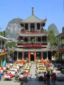 Restoran di Yangshuo.