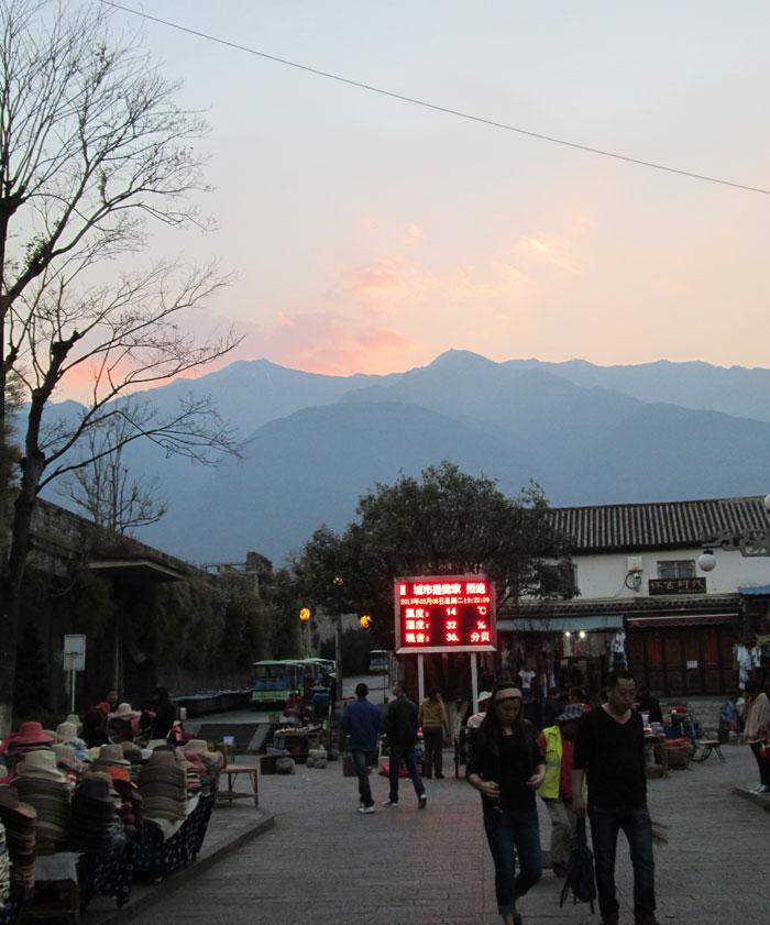 Senja di Kota Kuno Dali