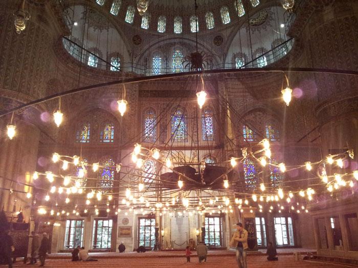 Interior Fatih Mosque