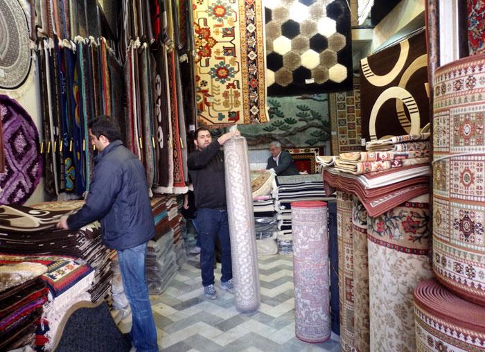 Penjual karpet