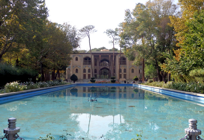 Hasht Behesht Palace yang dibangun pada jaman pemerintahan Savafid